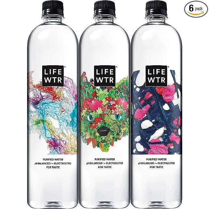 LIFEWTR, Premium Purified Water, pH Balanced with Electrolytes For Taste