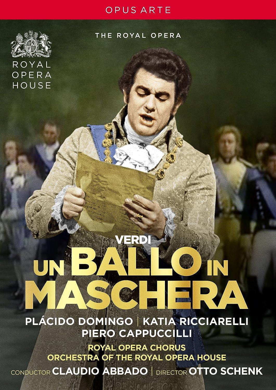 Giuseppe Verdi: Un ballo in maschera Domingo Ricciarelli Cappuccilli Grist