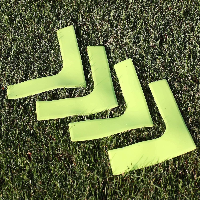 Field Markers 5 Educational Corner Floor Markers Training Cones