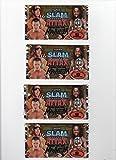 Topps :WWE Wrestling Slam Attax Mayhem Booster 6er-Pack (6 Booster mit je 6 Sammelkarten)