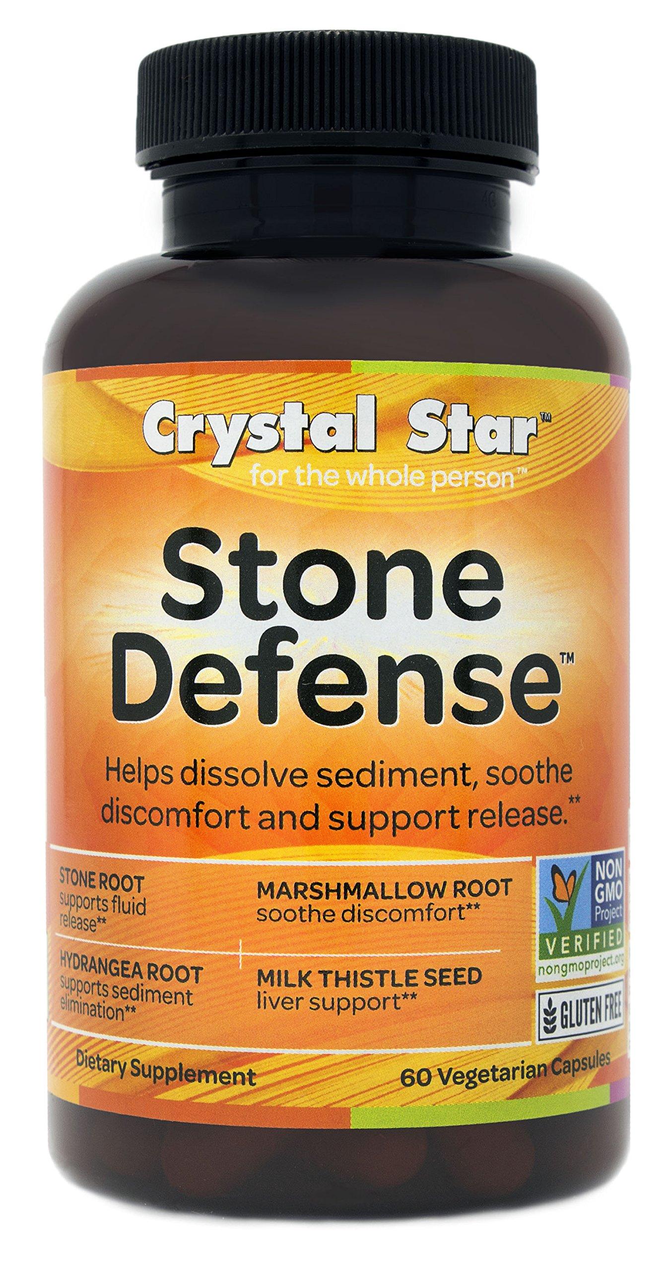 Crystal Star Stone Defense, 60 Vegetarian Capsules