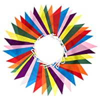 Premium Quality Bunting - Indoor / Outdoor Party Decoration (46 Feet, 42 Large Flags)