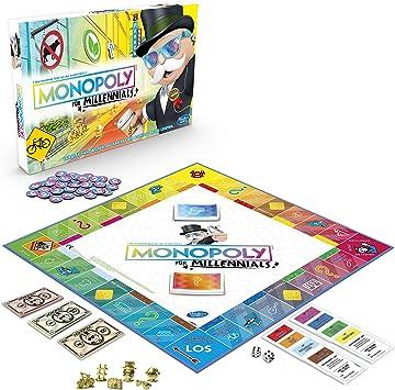 Hasbro Monopoly for Millennials Simulación económica Niños y ...