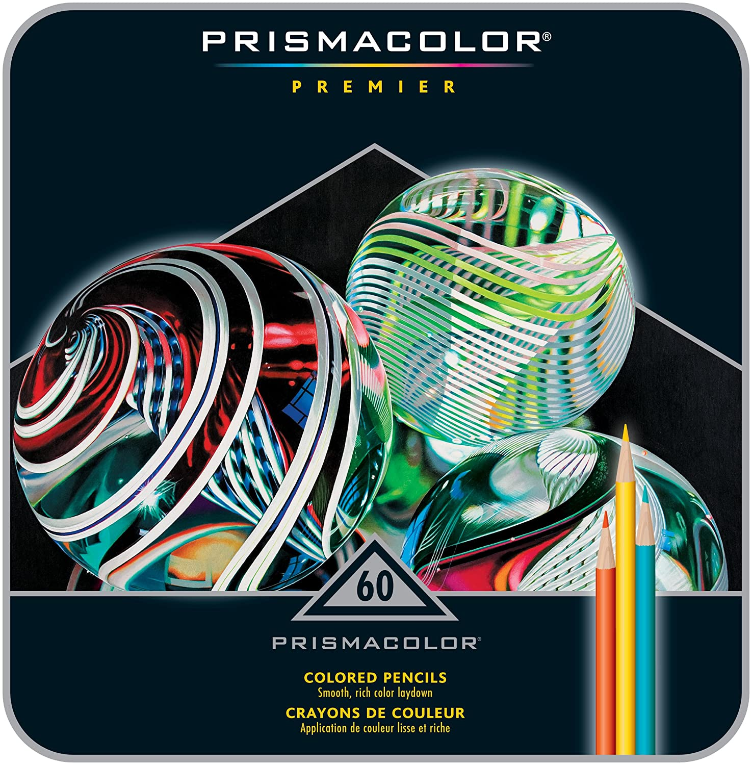 PRISMACOLOR PREMIER Pencil, Colored Pencils, Set of 60, Assorted ...