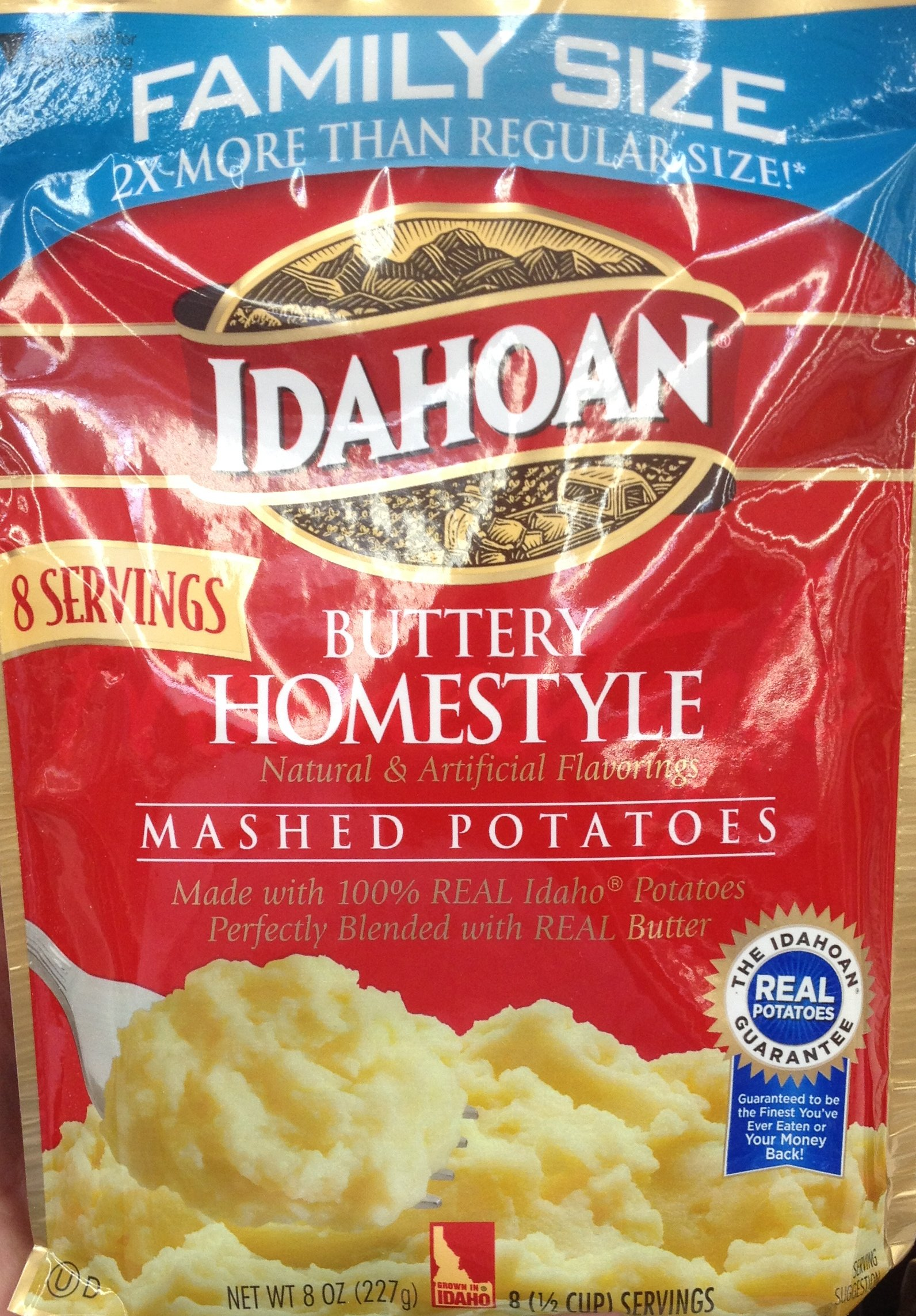 Idahoan Foods Buttery Homestyle Mashed Potatoes, 8 oz