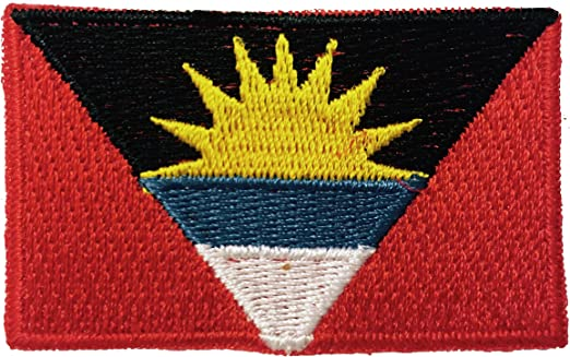 Flag of Antigua and Barbuda Embroidered PATCH//BADGE