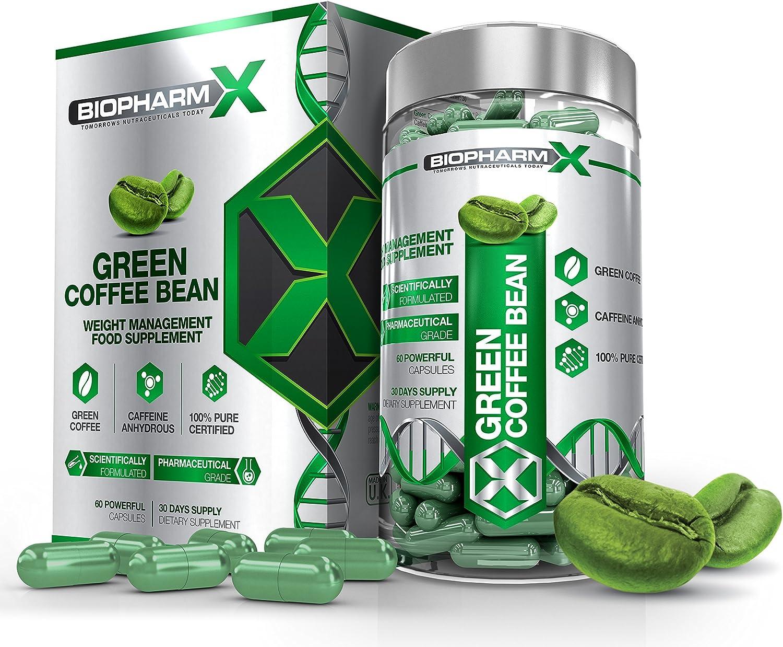 Amazon Com Biopharm X Green Coffee Bean Extract Diet Pills