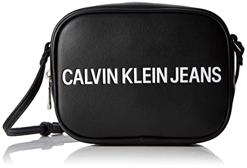 bf3f13e83 Calvin Klein Jeans Sculpted Logo Camera Bag, Women's Cross-Body Black,  8x12x17 cm