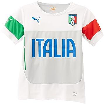 D'entrainement Shirt Italie Puma Sports T Figc Et Garçon xgwCEBq5C