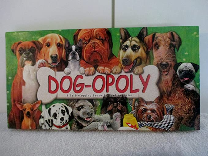 Amazon Dog Opoly Replacement Game Instructions Money