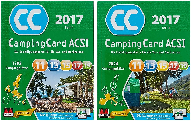 Acsi Karte.Campingcard Acsi 2017 Die Ermassigungskarte Fur Die Vor Und Nachsaison