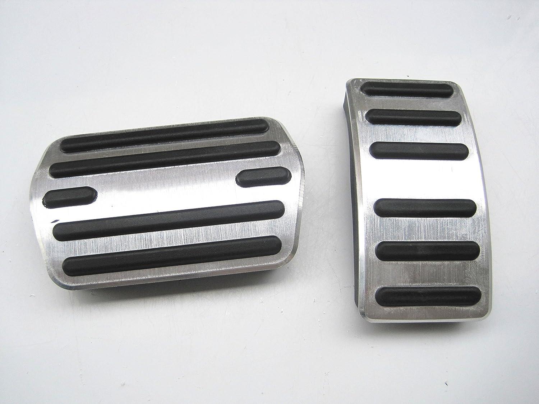 Brake Pedals For Ford Escape Kuga 2013-2018 No dirll AT Gas Fuel Brake Aluminum 2Pcs SLONG