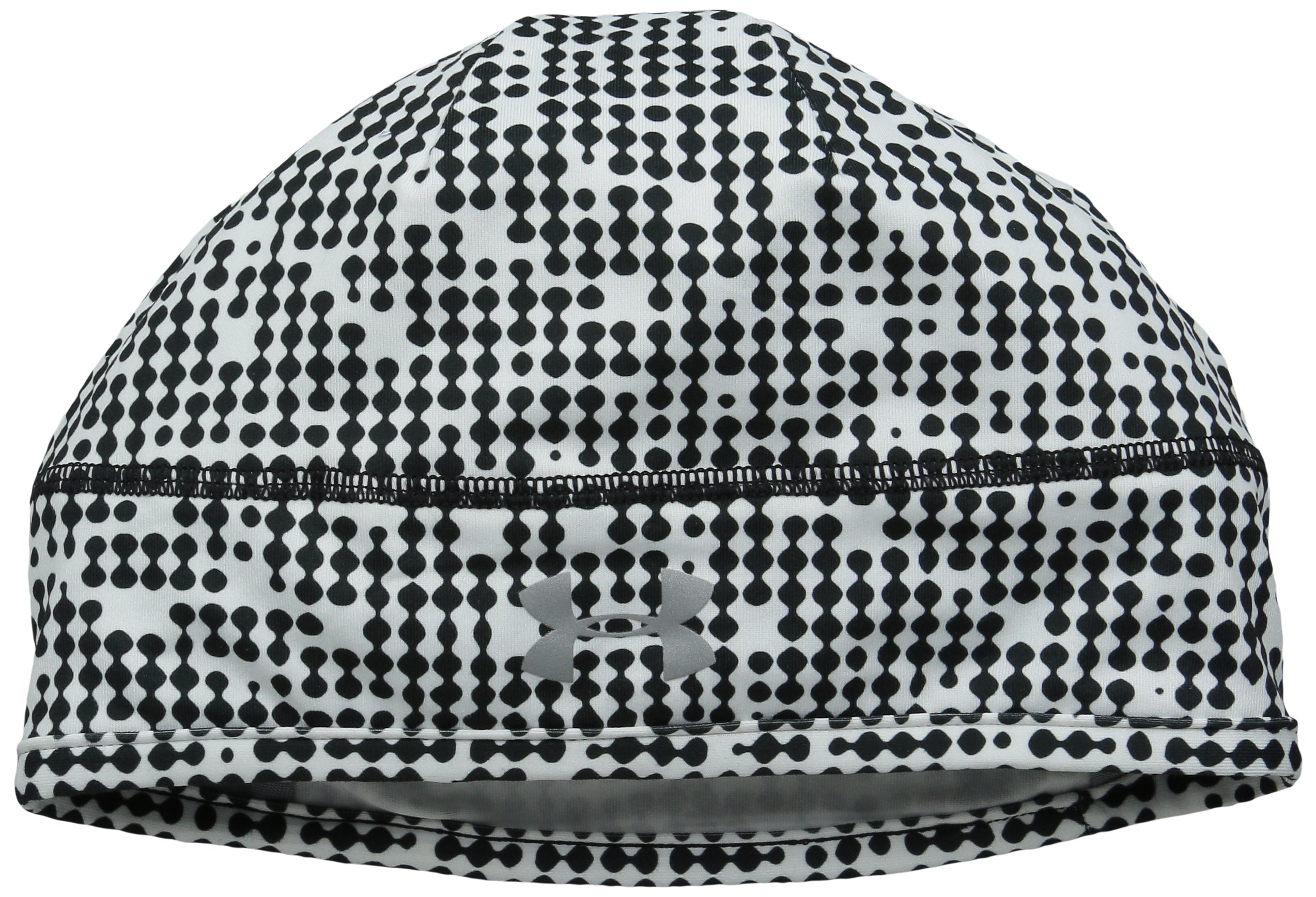 Under Armour Women's Layered Up Beanie, Black /Reflective, One Size