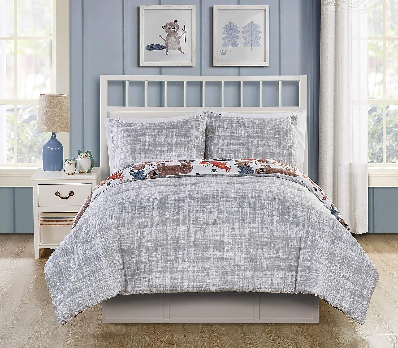 VCNY Home Little Campers Woodland Bedding Comforter Set Super Soft Multiple Size
