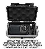 Casematix Waterproof Thermal Imager Case Compatible with Flir C2 C3 Infrared Camera with Rugged Exterior