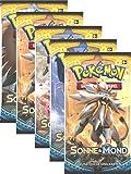 Pokemon Sonne & Mond Serie 1 - Booster Pack - Deutsch (5 Booster)