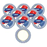 """Dixie Ultra Heavy Duty Paper Plates, 10 1/16"""", 176 Count, 8 Packs of 22 Plates, Dinner Size Printed Disposable Plates"""