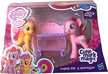 Amazon Com My Little Pony Cutie Mark Magic Pinkie Pie Scootaloo Bake Set Toys Games And whether they did or didn't, what do you think. my little pony cutie mark magic pinkie pie scootaloo bake set