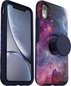 OtterBox + Pop Symmetry Series Case for iPhone XR (ONLY) Non-Retail Packaging - Blue Nebula