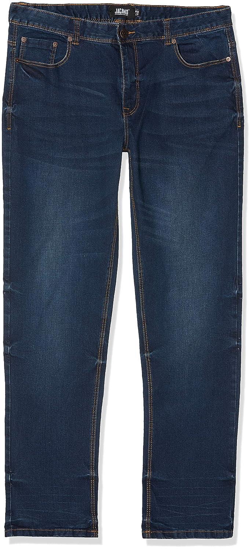 Jacamo Men's's Stretch Straight Washed Jean