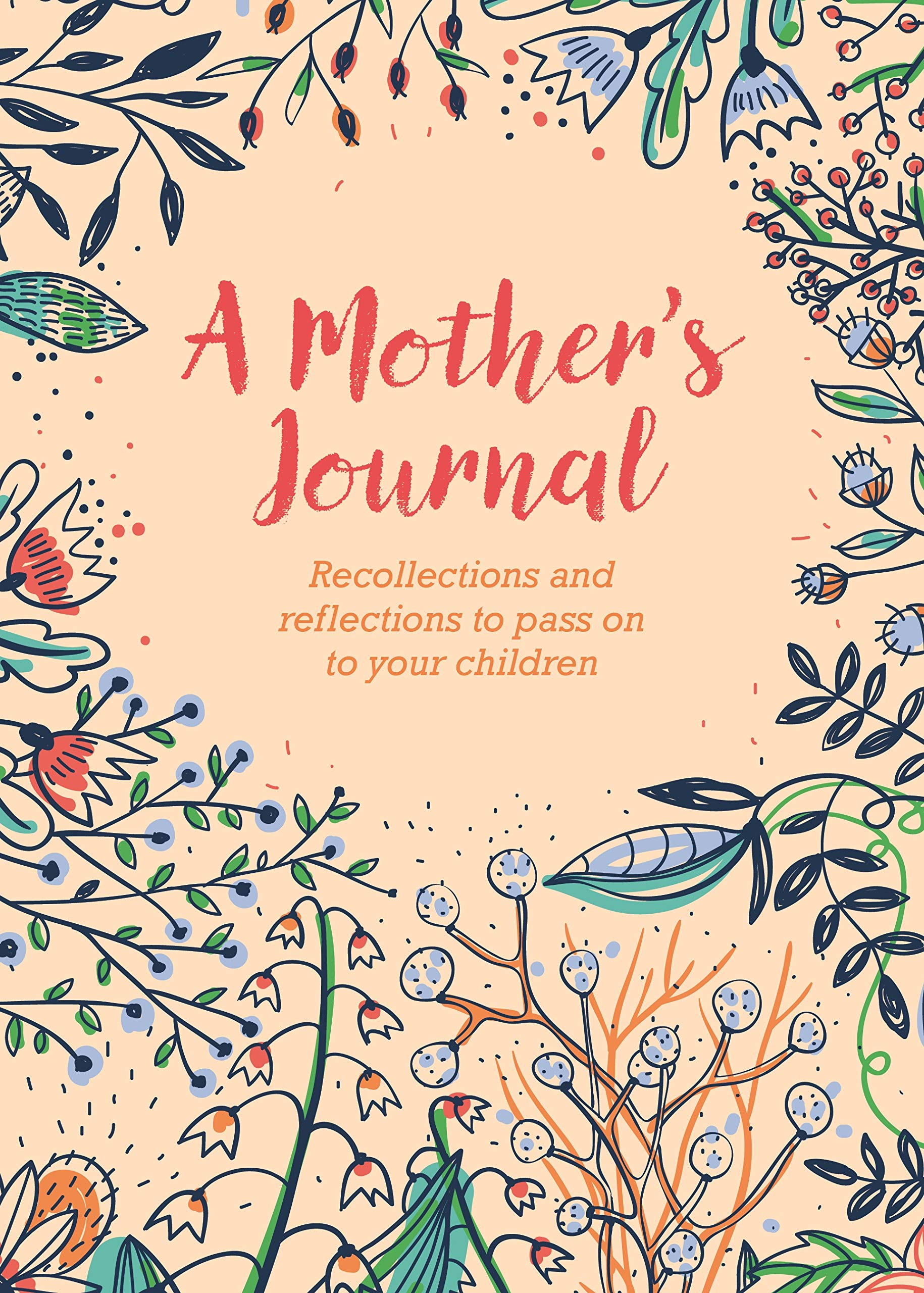 Kraft Hard Cover A Mothers Journal Mom