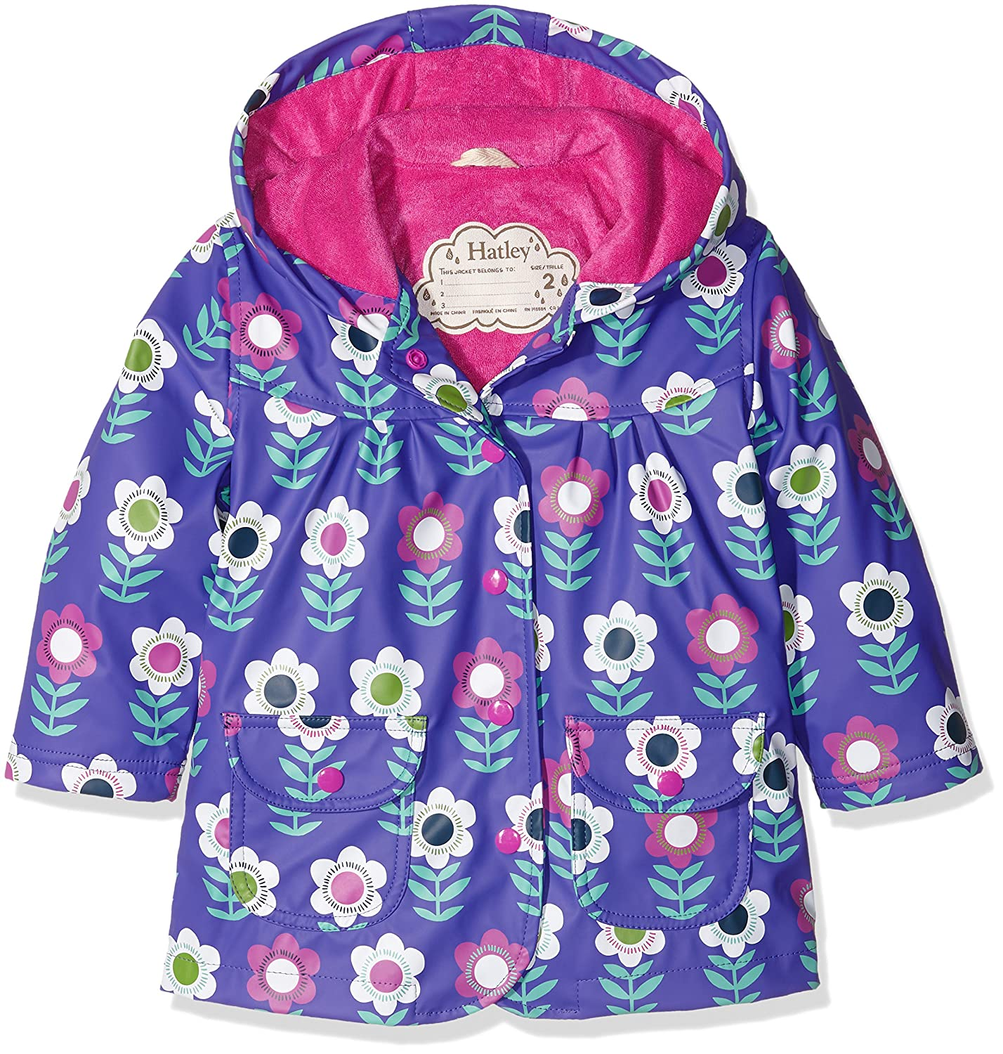 Hatley Girls' Classic Printed Raincoat Hatley Children' s Apparel RC5