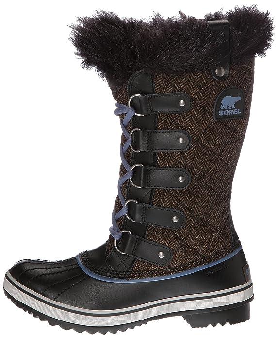 Sorel Damen Tofino CVS-1 Schwarz-Schuhgröße 37,5 Schuhgröße 37,5 Schwarz
