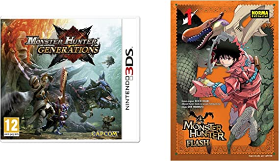 Monster Hunter Generations: Amazon.es: Videojuegos