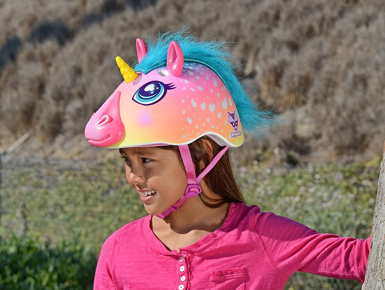 Amazon.com   Raskullz Super Rainbow Corn Hair Helmet b581ac699