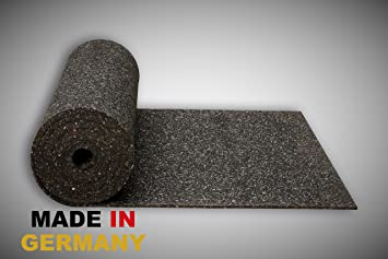 Fußbodenbelag Gummi ~ Gummimatte anti vibrationsmatte antirutschmatte 150 x 125 x 1 cm