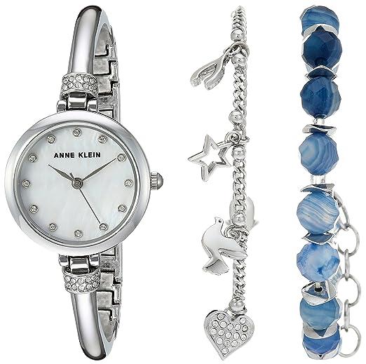 Amazon Com Anne Klein Women S Ak 2841bagt Swarovski Crystal