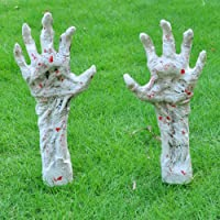 Zombie Arm Stakes, Halloween Yard Ground-breaker Stakes for Halloween Outdoor Yard Decorations