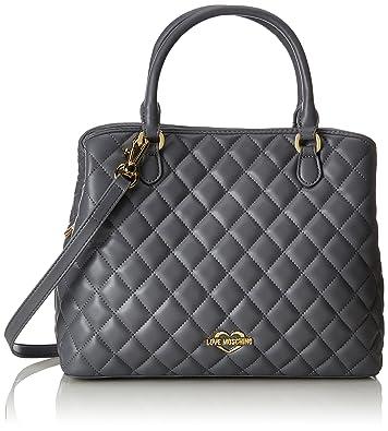ab9972509 Amazon.com: Love Moschino Women Grey Handbags: Clothing
