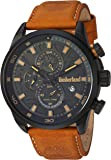 Timberland Men's TBL14816JLB02 HENNIKER II Analog Display Analog Quartz Brown Watch
