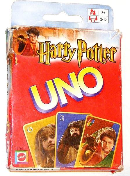 Amazon.com: UNO Card Game~Harry Potter Collector Edition ...