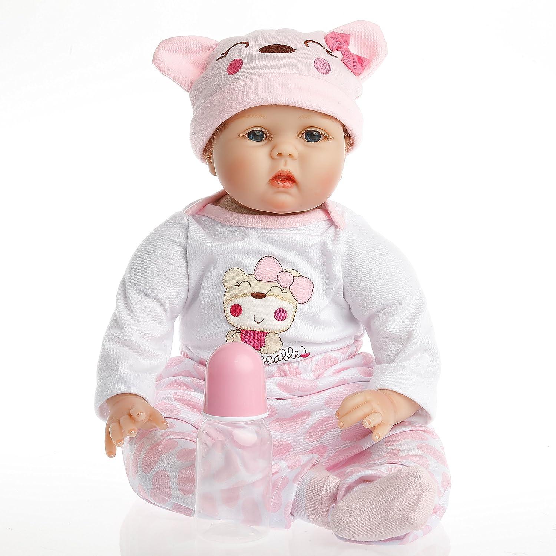 Amazoncom Sanydoll Reborn Doll Baby Newborn Doll 22inch 55cm