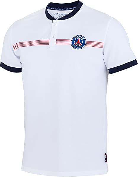 Paris Saint Germain Polo Oficial Talla Hombre, Hombre, Blanco, L ...