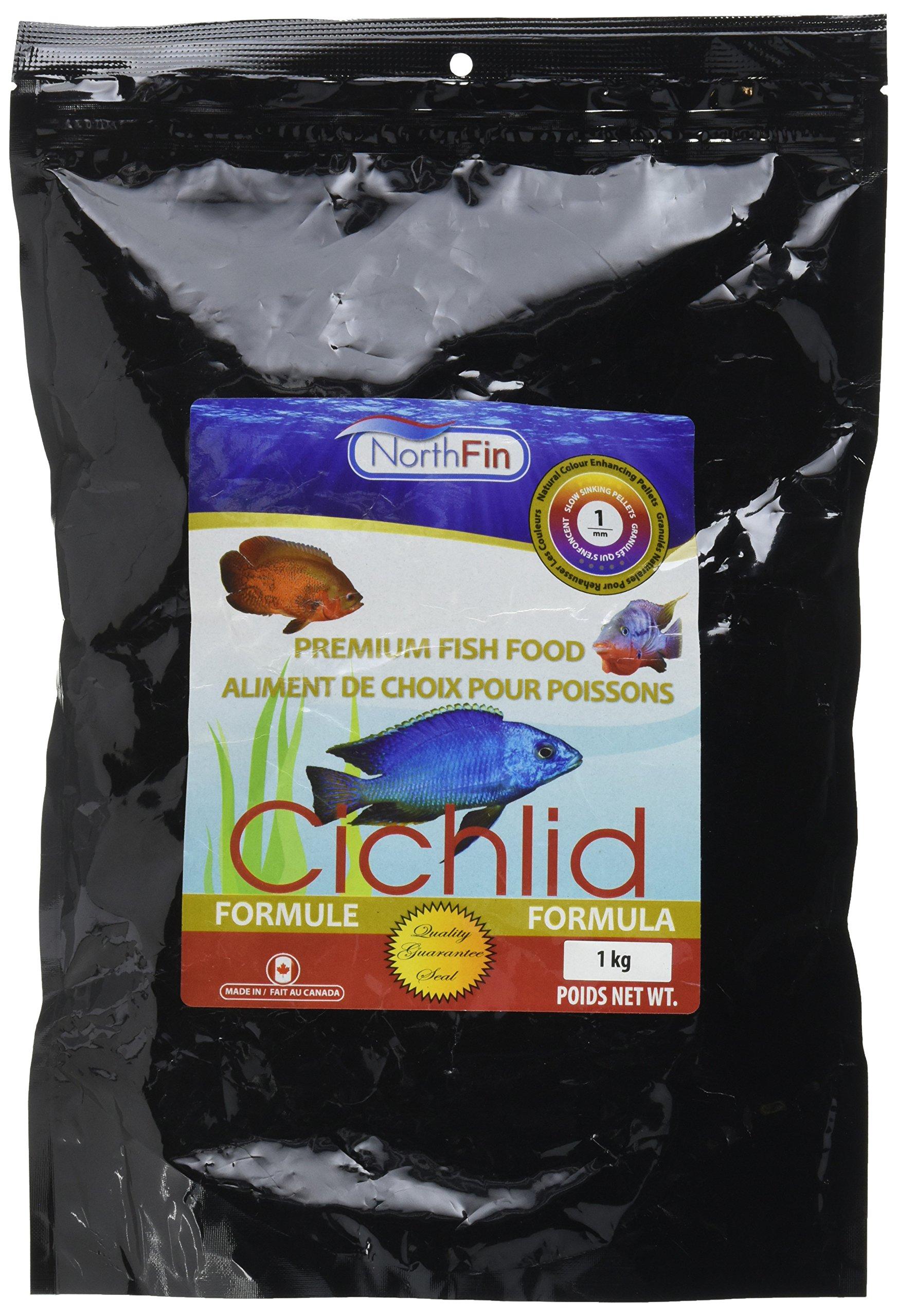 Northfin Food Cichlid Formula 1Mm Pellet 1Kg Package by Northfin