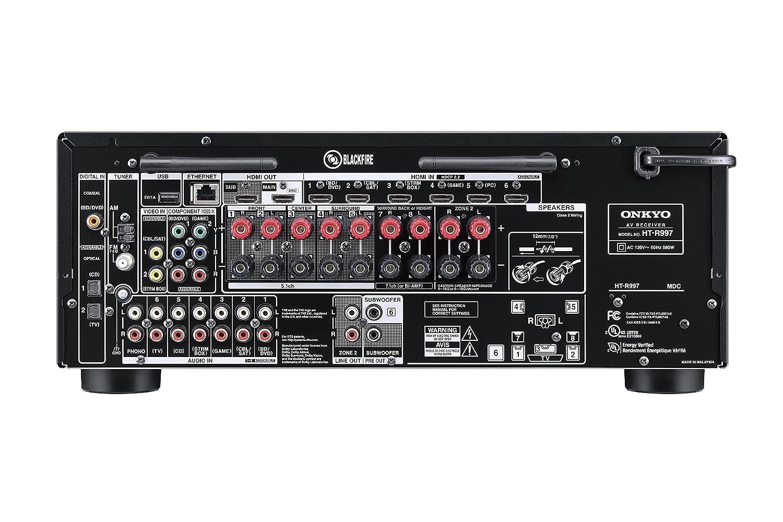 Onkyo THX Certified 7 1-Channel Surround Sound Speaker System Black  (HT-S9800THX)