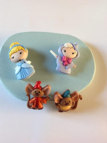 Disney Cinderella and Friends silicone moulds/mould / mold