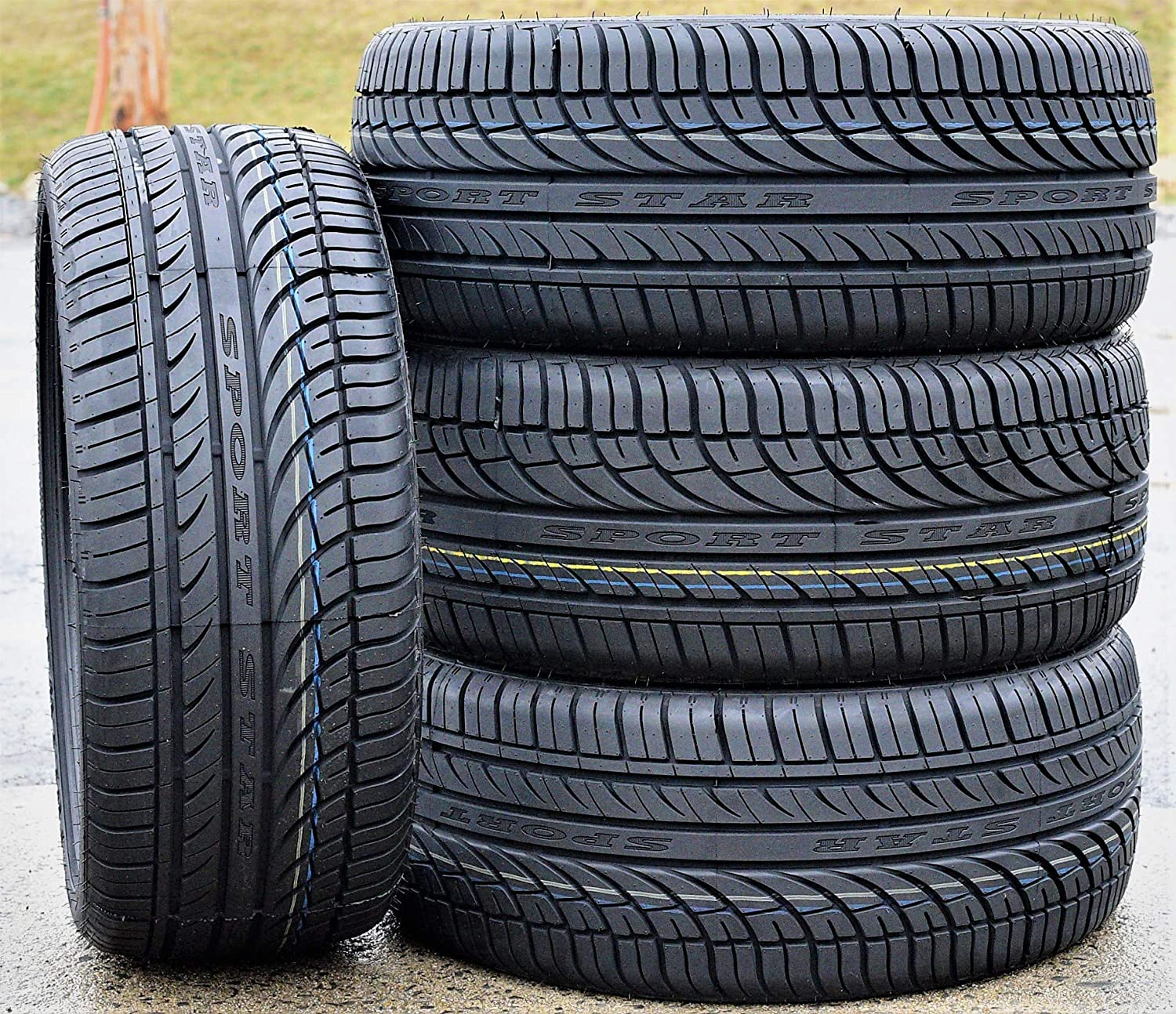 Fullway HP108 All-Season High Performance Radial Tires-295//30ZR22 103W XL Set of 2 TWO