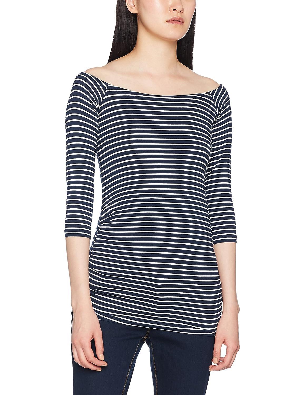 New Look Maternity Damen Schwangerschafts-T-Shirt Bardot 5145790