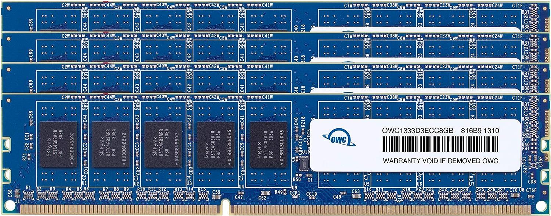 OWC 32.0GB (4X 8GB) DDR3 ECC-R PC10600 1333MHz SDRAM ECC for Mac Pro