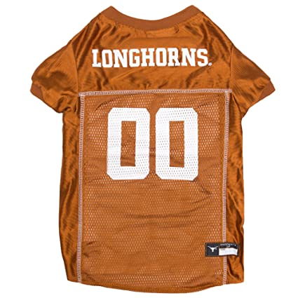 2435dab140a3 Amazon.com   NCAA TEXAS LONGHORNS DOG Jersey