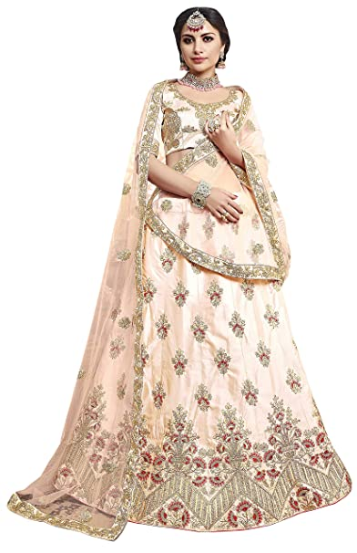 7244272b85c Image Unavailable. Image not available for. Colour  Manvaa Women S Silk  Embroidered Lehenga Choli In ...