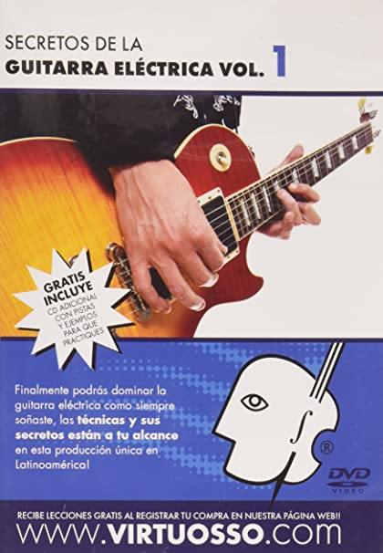Amazon.com: Virtuosso Electric Guitar Method Vol.1 (Curso De Guitarra Eléctrica Vol.1) SPANISH ONLY: Musical Instruments