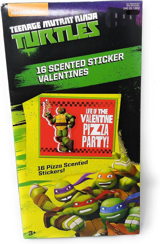 Amazon.com: Teenage Mutant Ninja Turtles Valentine Cards for ...