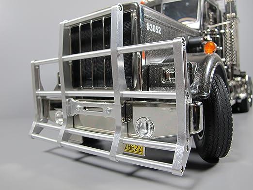 Aluminum Rear Bumper Bar Protector Guard Tamiya 1//14 King Grand Hauler Cascadia