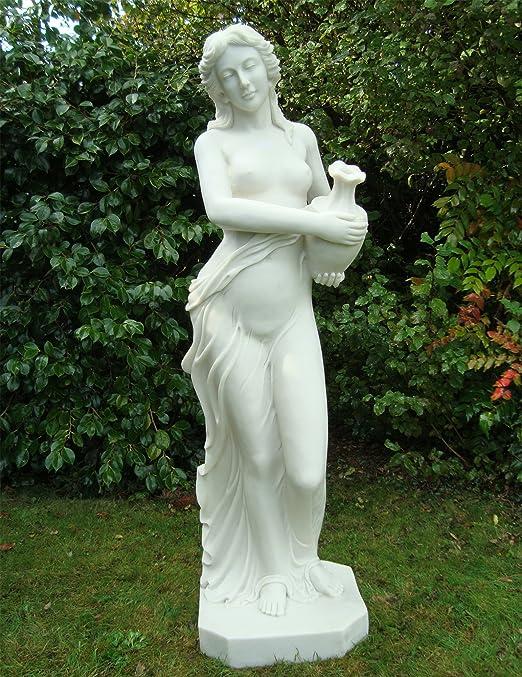 Grandes estatuas de jardín tibertano arte - gracia Escultura: Amazon.es: Jardín