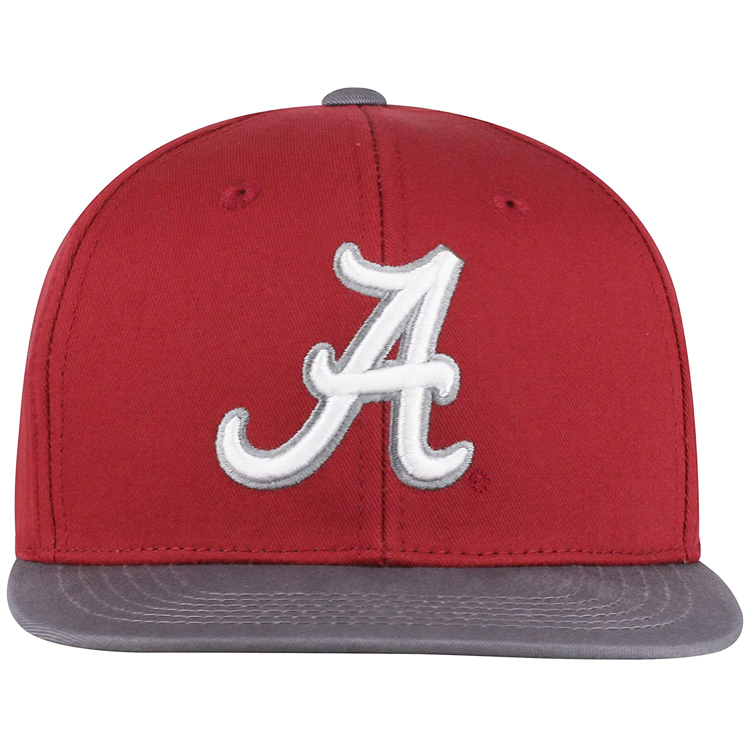 watch 69998 8dd7d Amazon.com   Top of the World Alabama Crimson Tide Maverick Youth Flat Bill  Snapback Adjustable Hat   Clothing